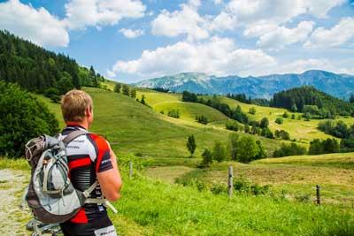 E-Biketour auf die Falkensteinalm