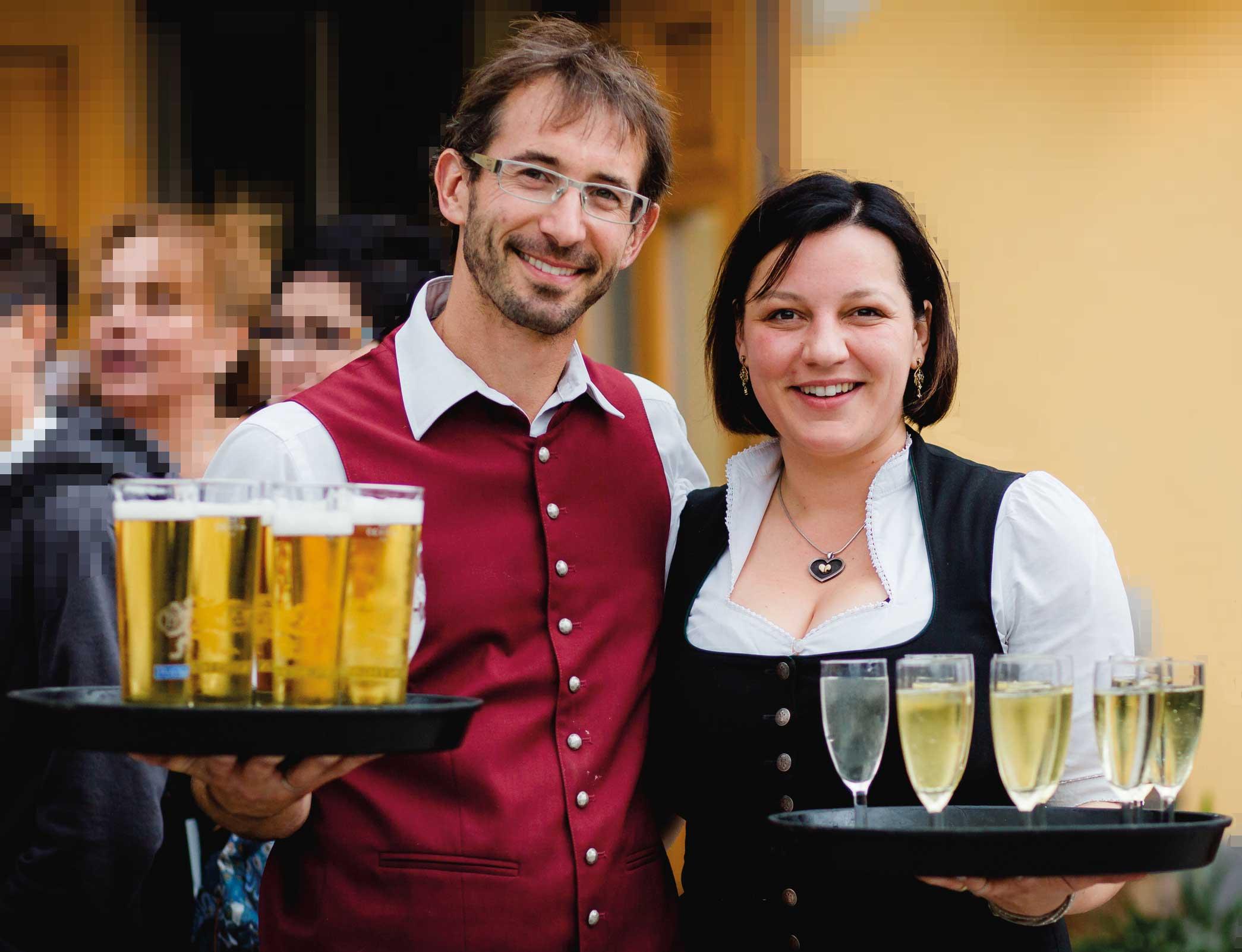 David und Elisabeth Bareck - die Wirtsleute